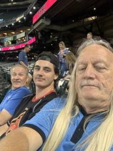 B attended Arizona Diamondbacks vs. Pittsburgh Pirates - MLB on Jul 19th 2021 via VetTix