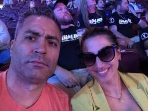 Miguel Acosta attended Lima vs. Amosov - Bellator Mixed Martial Arts on Jun 11th 2021 via VetTix