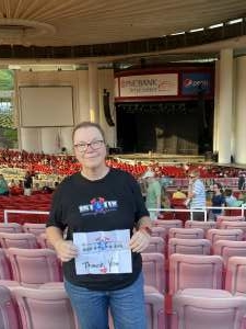 Kathy attended An Evening With Chicago and Their Greatest Hits on Jul 15th 2021 via VetTix