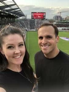 Christopher attended DC United vs. Inter Miami CF - MLS on Jun 19th 2021 via VetTix