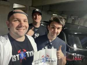 Anthony attended New York Yankees vs. Oakland Athletics - MLB on Jun 18th 2021 via VetTix
