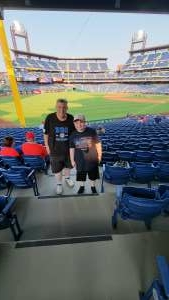 Benzee attended Philadelphia Phillies vs. Washington Nationals - MLB on Jul 27th 2021 via VetTix