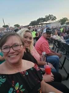 Sara attended Brad Paisley Tour 2021 on Jul 22nd 2021 via VetTix
