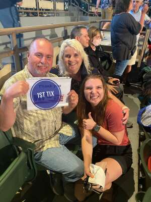 Robert  attended An Evening With Chicago and Their Greatest Hits on Jul 18th 2021 via VetTix