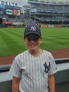 Frank attended New York Yankees vs. New York Mets - MLB on Jul 3rd 2021 via VetTix