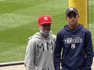 Sean  attended New York Yankees vs. New York Mets - MLB on Jul 3rd 2021 via VetTix