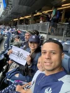 Jairo  attended New York Yankees vs. New York Mets - MLB on Jul 3rd 2021 via VetTix