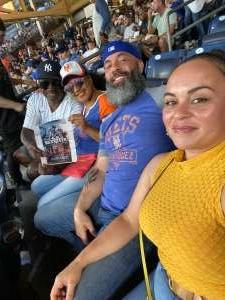 Lonnie attended New York Yankees vs. New York Mets - MLB on Jul 4th 2021 via VetTix