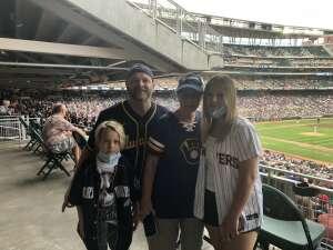 Jay K attended Minnesota Twins vs. Milwaukee Brewers - MLB on Aug 28th 2021 via VetTix
