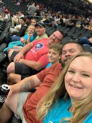 Thomas Moody attended Arizona Rattlers vs. Sioux Falls Storm on Jul 24th 2021 via VetTix