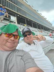 spanky1115 attended Quaker State 400 Presented by Walmart on Jul 11th 2021 via VetTix