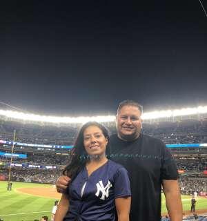 ESJ attended New York Yankees vs. Philadelphia Phillies - MLB on Jul 20th 2021 via VetTix