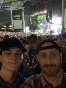 Sean attended Brad Paisley Tour 2021 on Jul 9th 2021 via VetTix