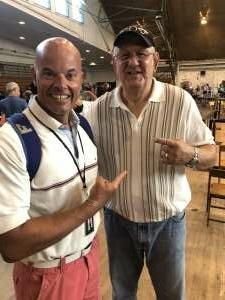 Todd Edwards Miller attended Legends of Hamburg - The Pro Wrestling FanFest + OutBreak Wrestling LIVE Pro Wrestling Event on Jul 24th 2021 via VetTix