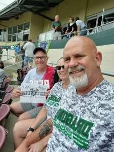 Larry  attended Dayton Dragons vs. West Michigan Whitecaps - MiLB on Jul 11th 2021 via VetTix