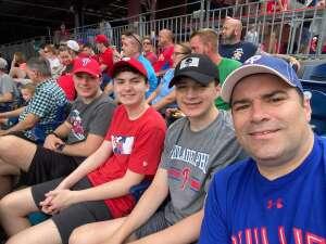 Bob C. attended Philadelphia Phillies vs. Miami Marlins - MLB on Jul 17th 2021 via VetTix