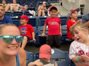 Megan A. attended Philadelphia Phillies vs. Miami Marlins - MLB on Jul 17th 2021 via VetTix