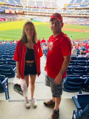Marc attended Philadelphia Phillies vs. Atlanta Braves - MLB on Jul 23rd 2021 via VetTix
