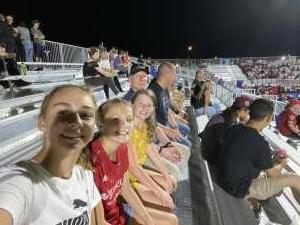 Justin attended Phoenix Rising FC vs. Vs. LA Galaxy II - USL on Jul 17th 2021 via VetTix