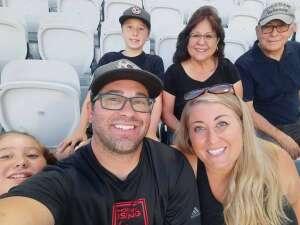 DAQ attended Phoenix Rising FC vs. Vs. LA Galaxy II - USL on Jul 17th 2021 via VetTix