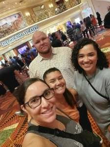 Ashley attended Chelsea Handler Live at the Mirage Las Vegas - Tonight on Jul 10th 2021 via VetTix