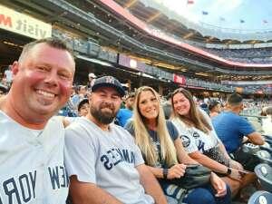 Jimmy  attended New York Yankees vs. Boston Red Sox - MLB on Jul 16th 2021 via VetTix