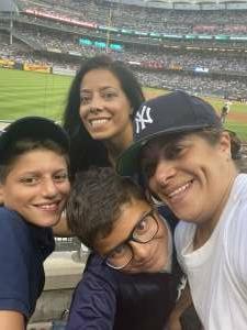 Occb2 attended New York Yankees vs. Boston Red Sox - MLB on Jul 16th 2021 via VetTix