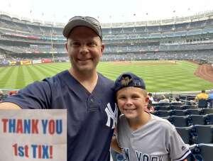 Tom K attended New York Yankees vs. Philadelphia Phillies - MLB on Jul 20th 2021 via VetTix