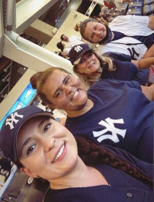 Allie attended New York Yankees vs. Philadelphia Phillies - MLB on Jul 20th 2021 via VetTix