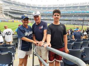 Ann attended New York Yankees vs. Philadelphia Phillies - MLB on Jul 20th 2021 via VetTix