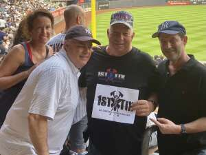 Dave attended New York Yankees vs. Philadelphia Phillies - MLB on Jul 21st 2021 via VetTix
