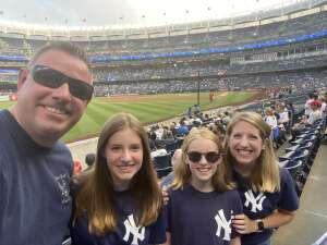 Frenchy attended New York Yankees vs. Philadelphia Phillies - MLB on Jul 21st 2021 via VetTix