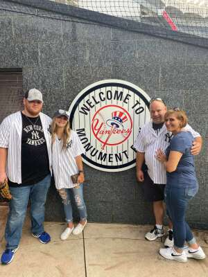 Lynn H. attended New York Yankees vs. Philadelphia Phillies - MLB on Jul 21st 2021 via VetTix