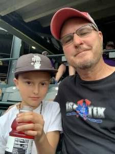 Larry attended Colorado Rockies vs. Seattle Mariners on Jul 20th 2021 via VetTix