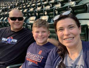 Brad B attended Detroit Tigers vs. Texas Rangers - MLB on Jul 19th 2021 via VetTix