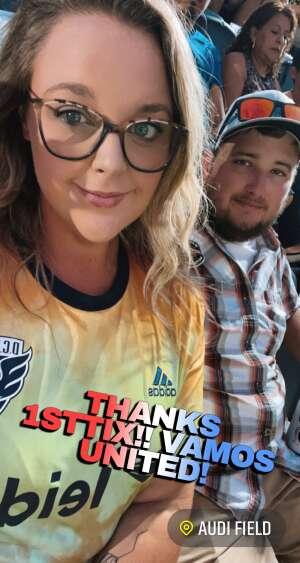 Tianna attended DC United vs. New York Red Bulls - MLS on Jul 25th 2021 via VetTix
