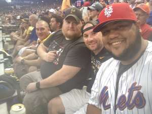 James  attended Pittsburgh Pirates vs. New York Mets - MLB on Jul 16th 2021 via VetTix