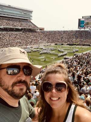 Gordy Lauren attended Michigan State Spartans vs. Youngstown State Penguins - NCAA Football on Sep 11th 2021 via VetTix