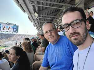 Dan489 attended Michigan State Spartans vs. Youngstown State Penguins - NCAA Football on Sep 11th 2021 via VetTix