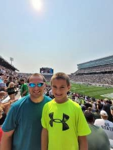 Jason attended Michigan State Spartans vs. Youngstown State Penguins - NCAA Football on Sep 11th 2021 via VetTix