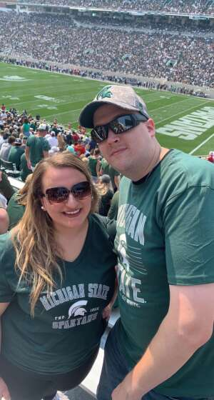 Matt attended Michigan State Spartans vs. Youngstown State Penguins - NCAA Football on Sep 11th 2021 via VetTix