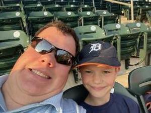 Cubscout01  attended Detroit Tigers vs. Texas Rangers - MLB on Jul 21st 2021 via VetTix