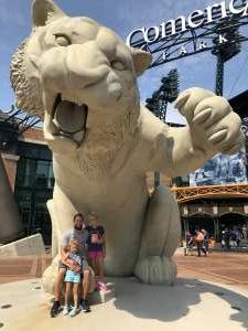 Daryl attended Detroit Tigers vs. Texas Rangers - MLB on Jul 22nd 2021 via VetTix