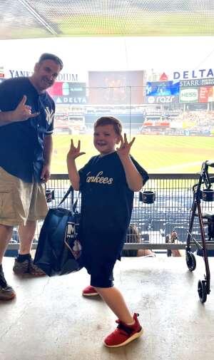 Nick attended New York Yankees vs. Philadelphia Phillies - MLB on Jul 20th 2021 via VetTix
