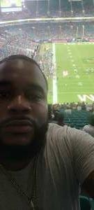 Alan attended University of Miami Hurricanes vs. Appalachian State University Mountaineers - NCAA Football on Sep 11th 2021 via VetTix