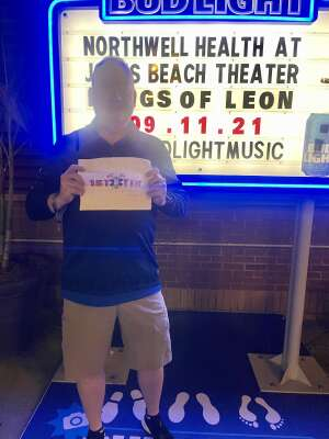 Robert  attended Kings of Leon: When You See Yourself Tour on Sep 11th 2021 via VetTix