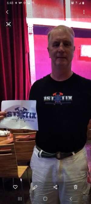 Shawn McHugh  attended Andrew Dice Clay w/ Eleanor Kerrigan on Aug 1st 2021 via VetTix