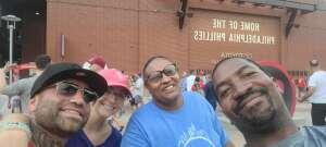 Kareem Lee  attended Philadelphia Phillies vs. Los Angeles Dodgers - MLB on Aug 10th 2021 via VetTix