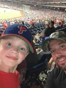 Nick attended Philadelphia Phillies vs. Los Angeles Dodgers - MLB on Aug 10th 2021 via VetTix