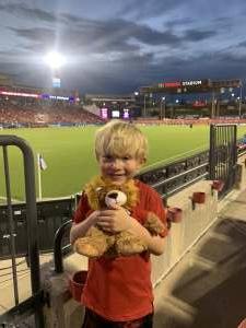 Josh attended FC Dallas vs. Austin FC - MLS on Aug 7th 2021 via VetTix